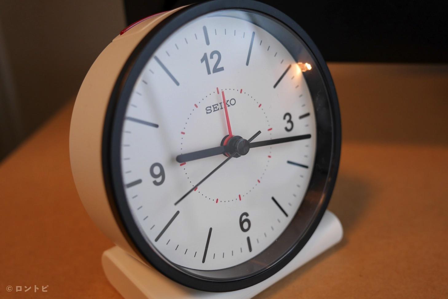 セイコー 目覚まし時計 コンパクト