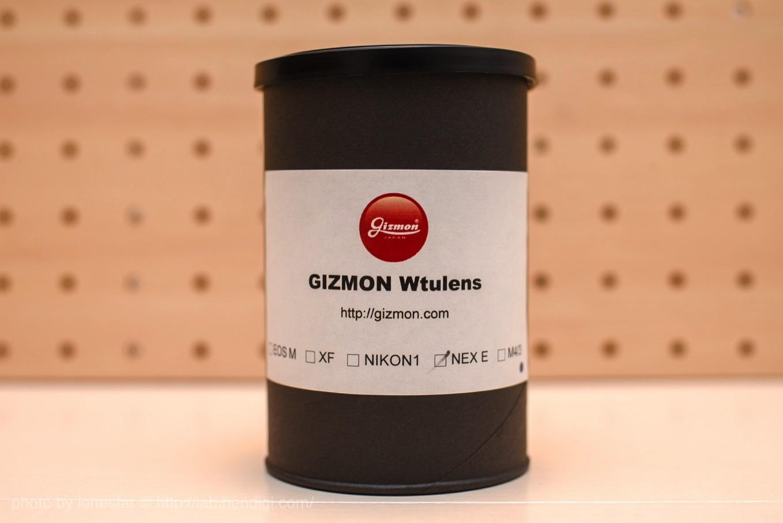 GIZMON Wtulens レビュー