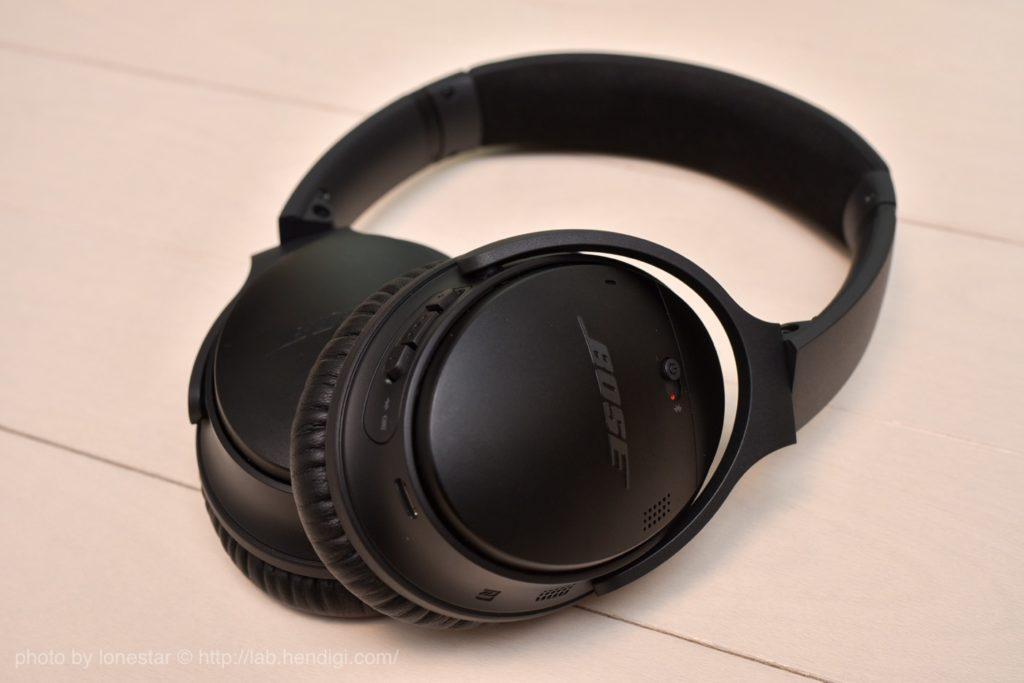BOSE ノイズキャンセルヘッドホン「QuietComfort 35 wireless headphones