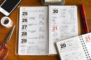 カレンダー マステ