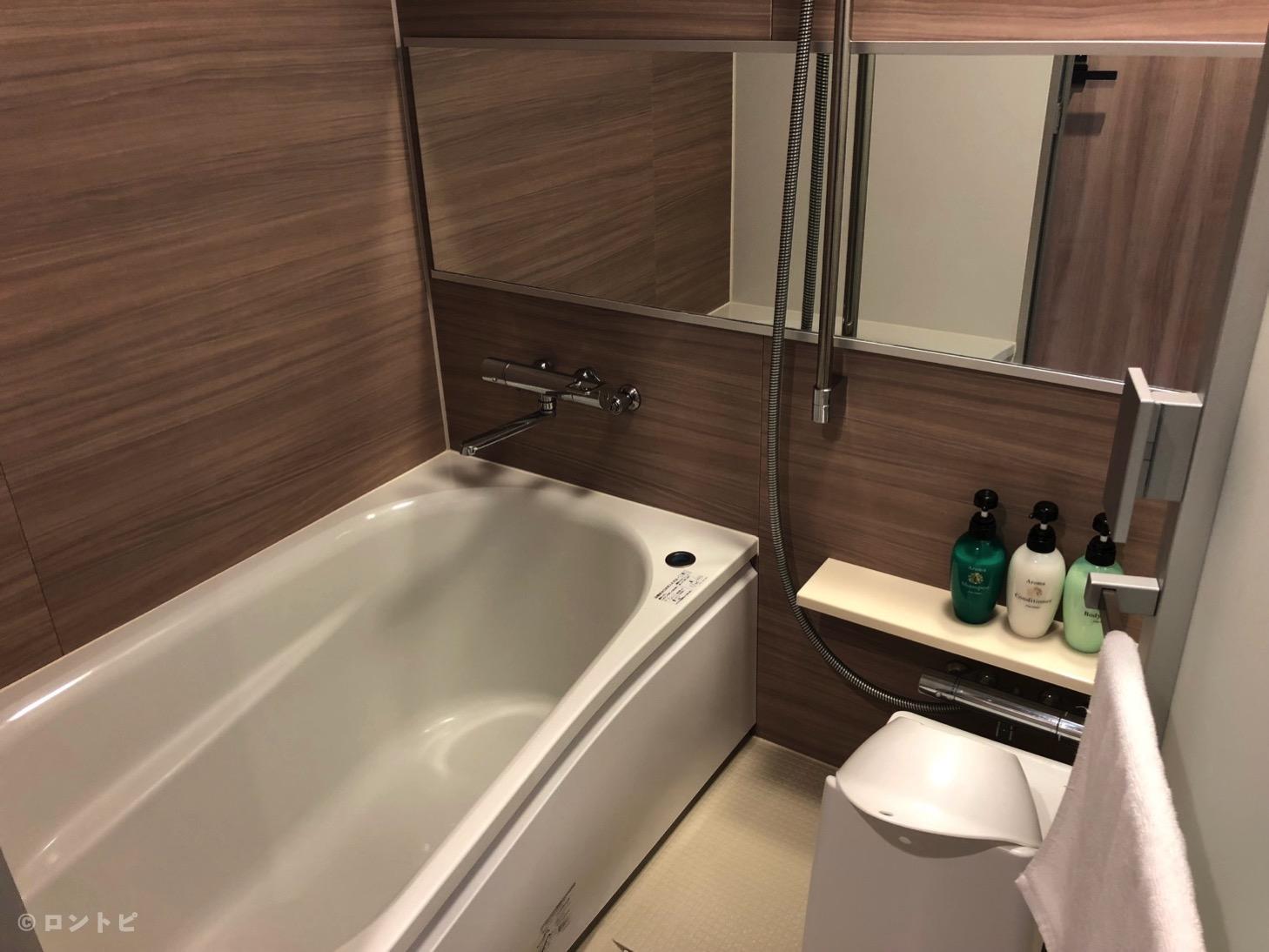 ホテルミュッセ 銀座 お風呂