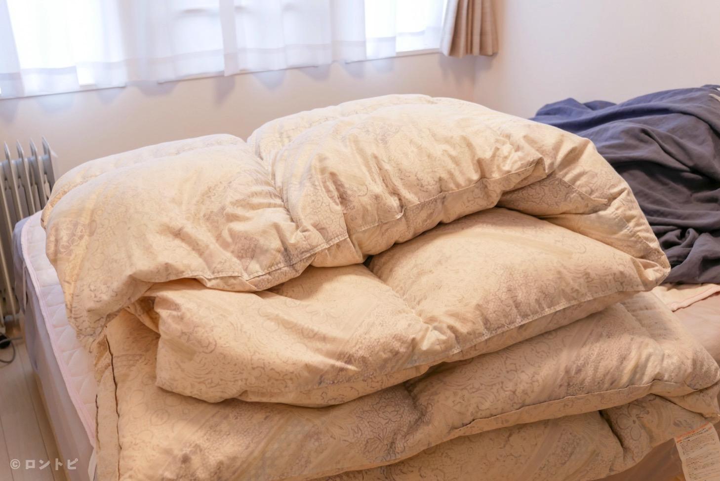 羽毛布団 自宅 洗濯