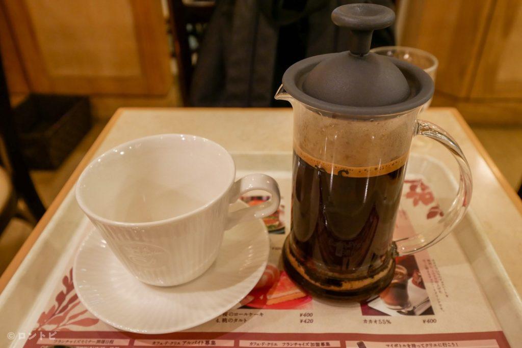 カフェドクリエ カフェインレスコーヒー