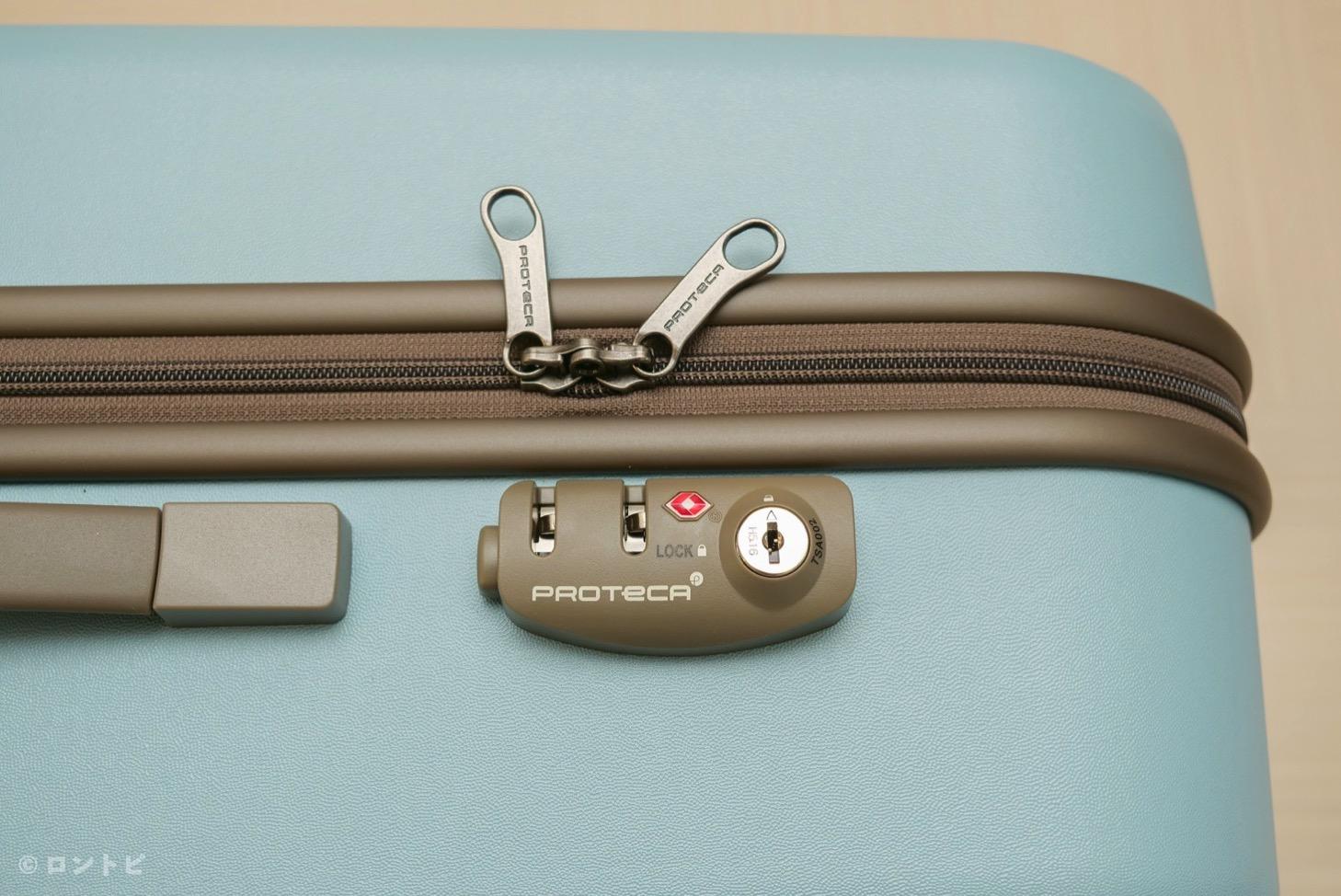 スーツケース TSA ロック