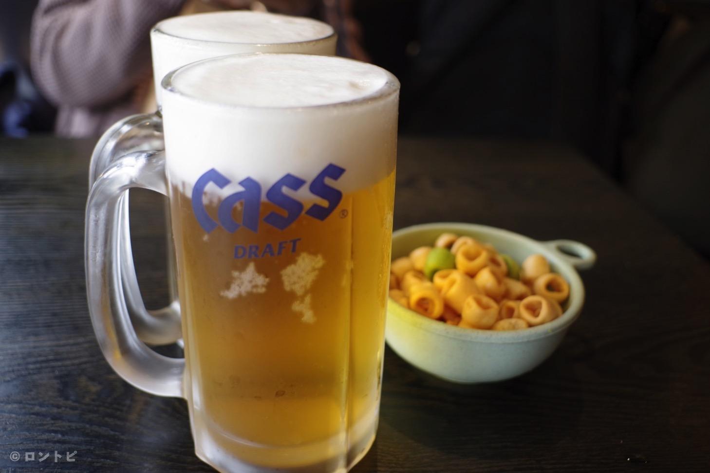 韓国 ビール CASS