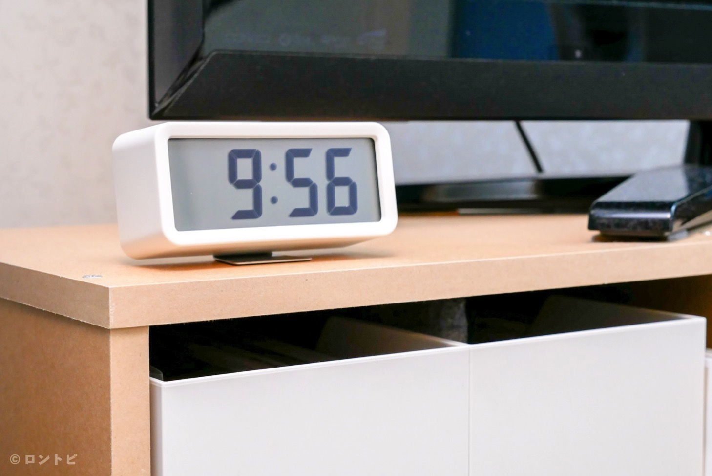 無印良品 デジタル時計 レビュー