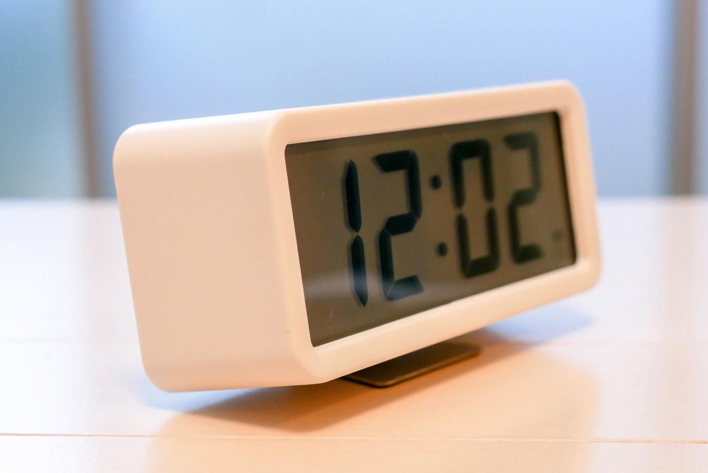 無印良品 デジタル時計 スタンド