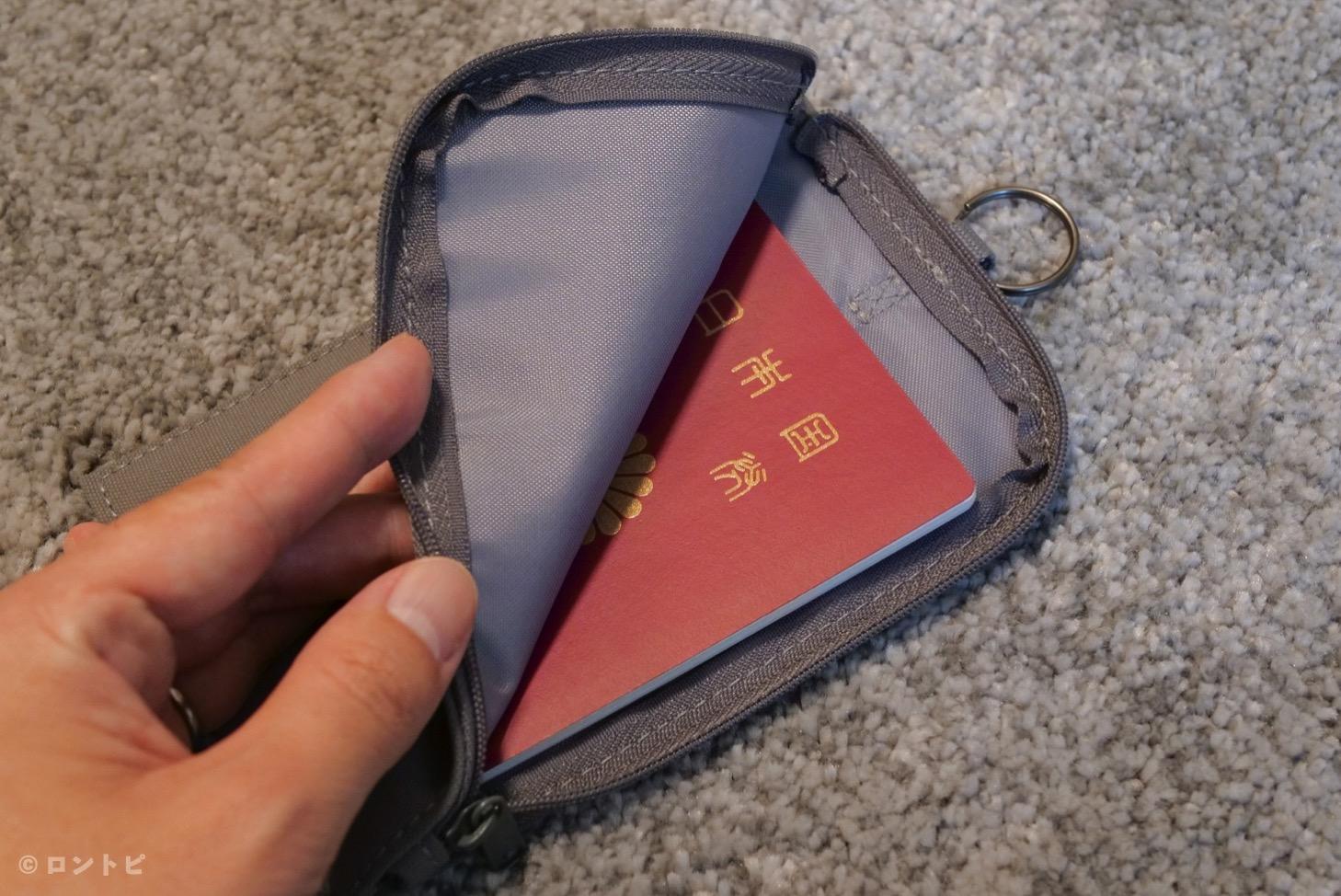パスポートケース 無印