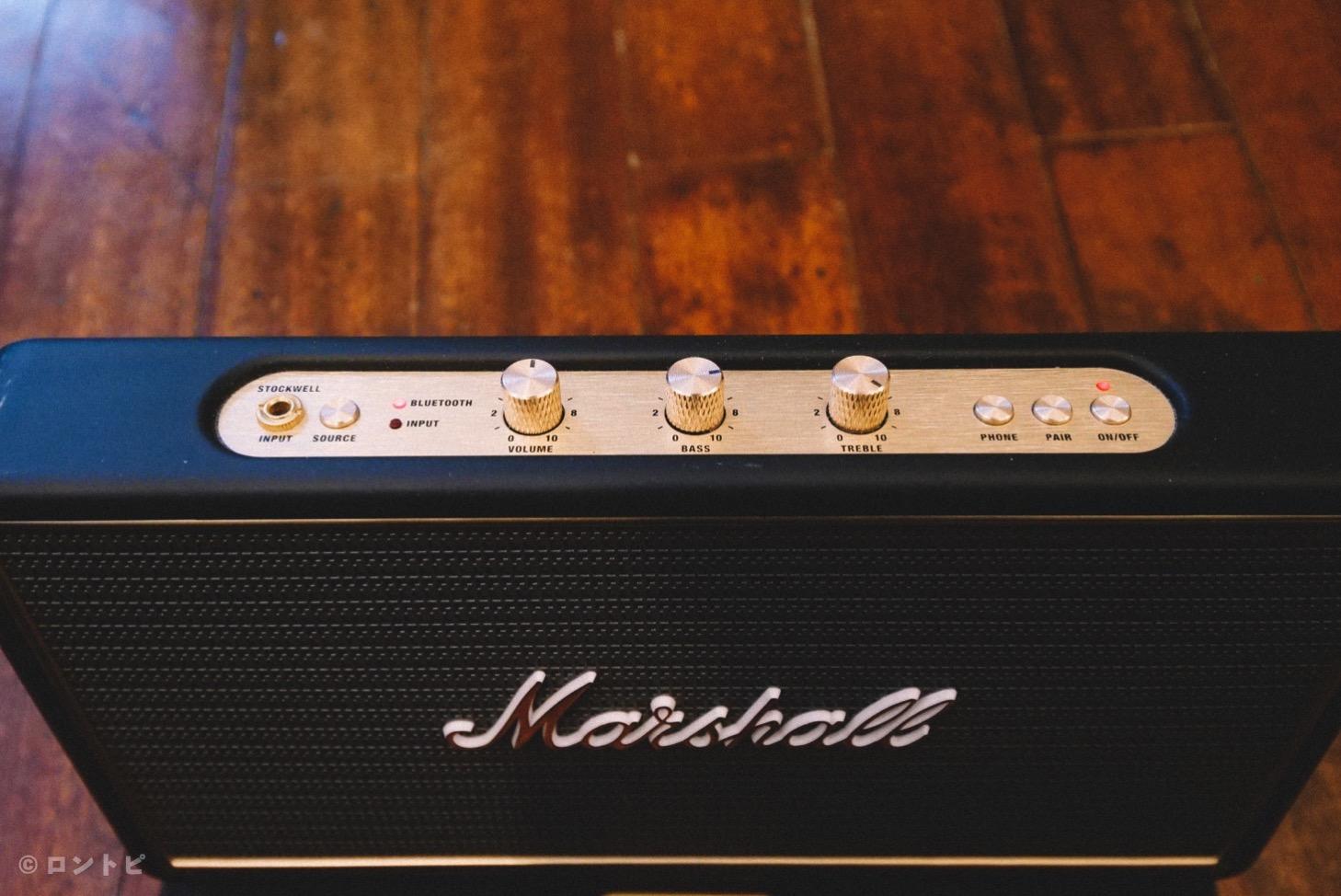 Marshall  Bluetoothスピーカー レビュー