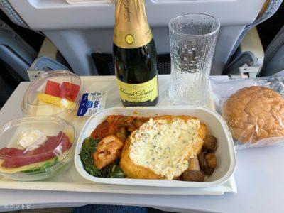 フィンエアー Seat and Meal
