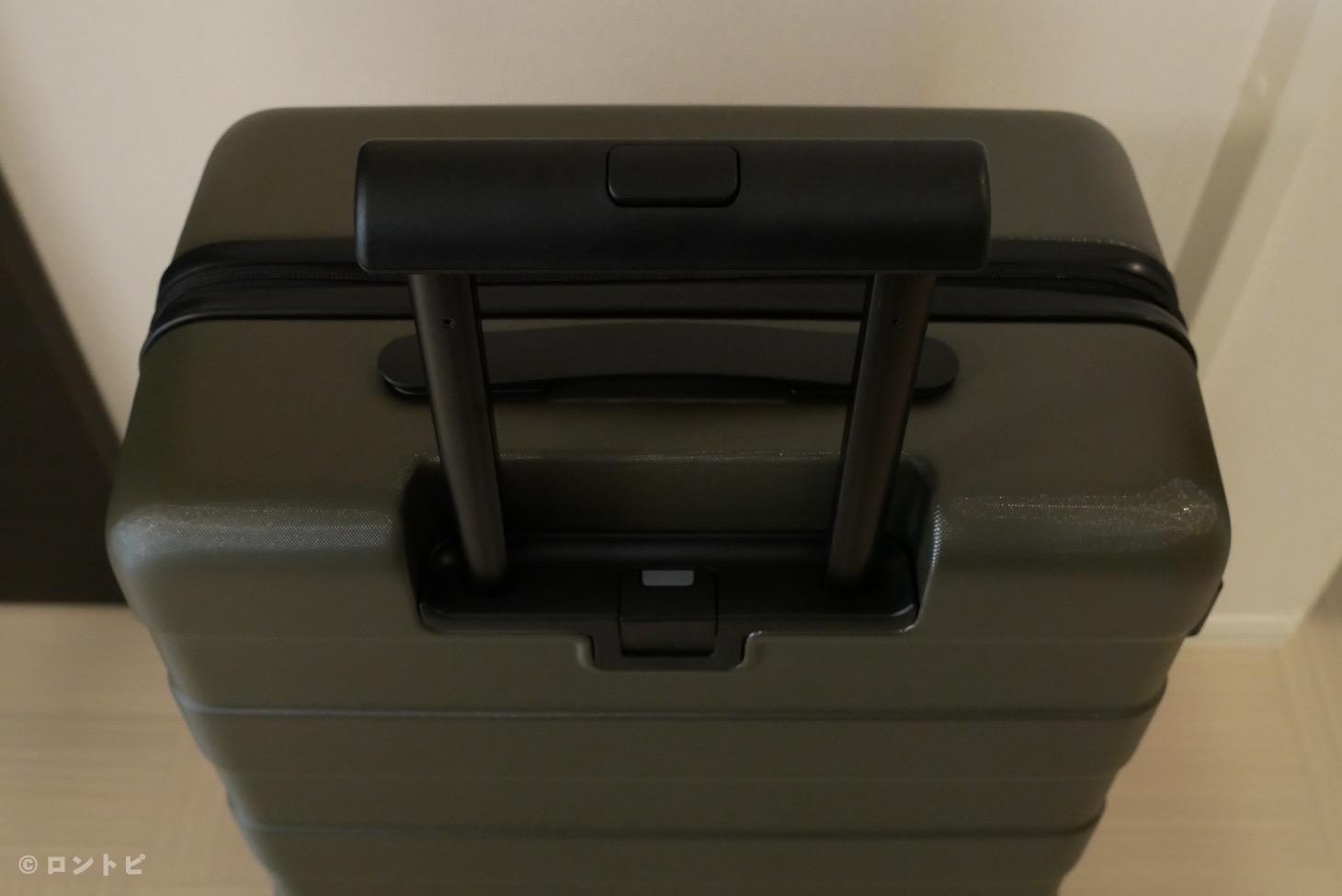 無印良品 スーツケース グリーン