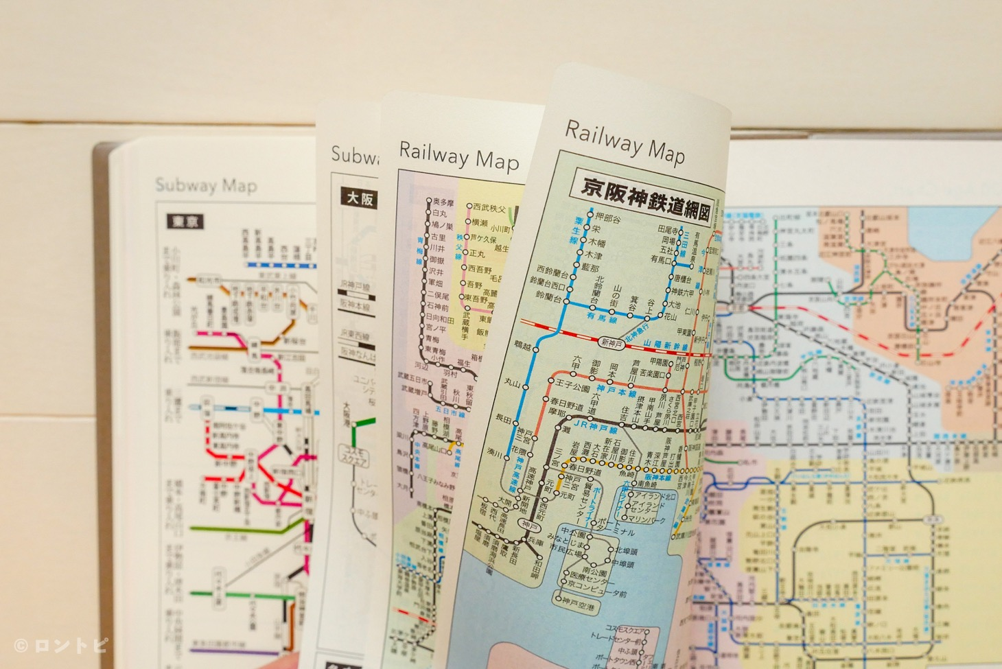NOLTY U 地下鉄路線図・近郊鉄道路線図・年齢早見