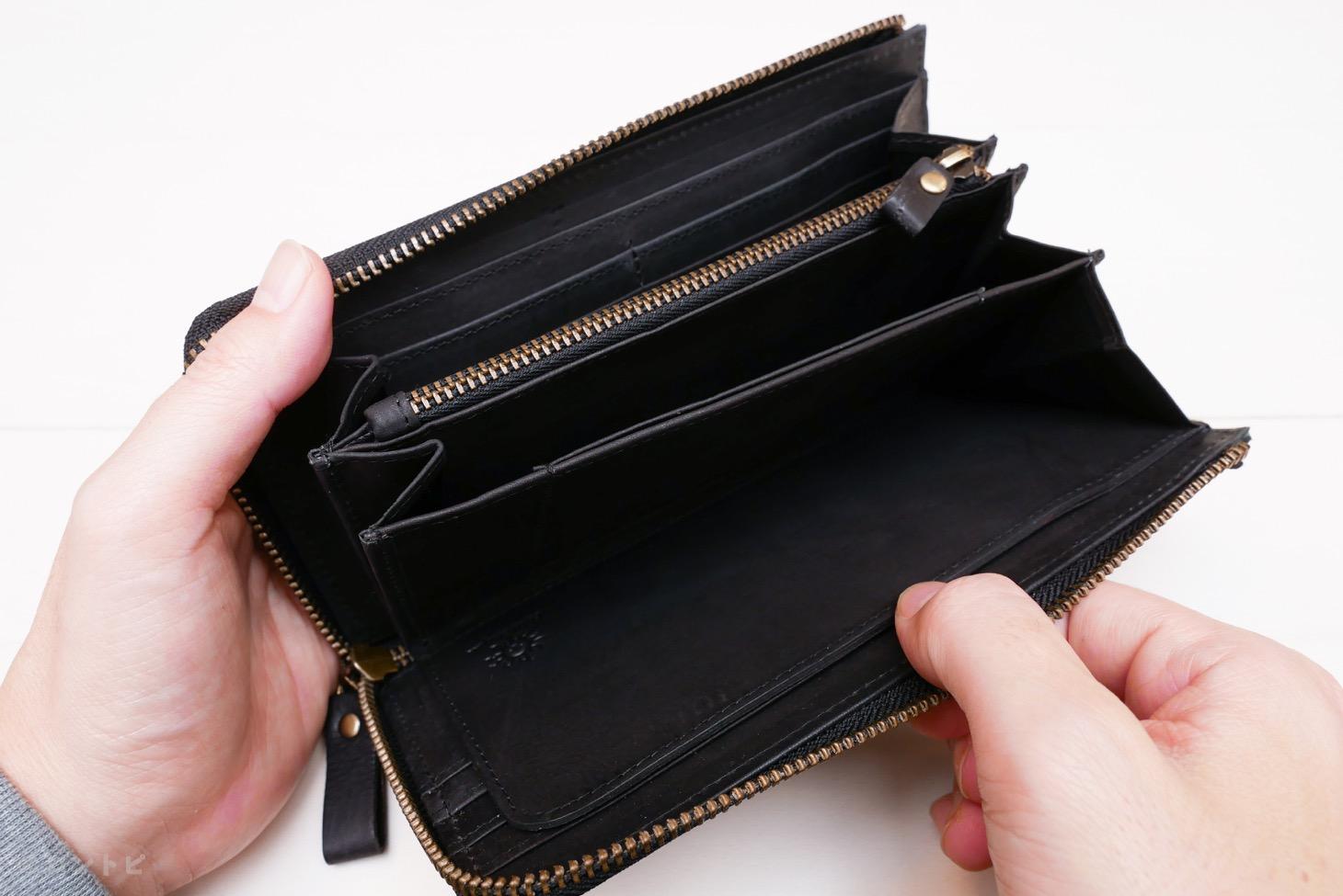 整理整頓 長財布 レビュー