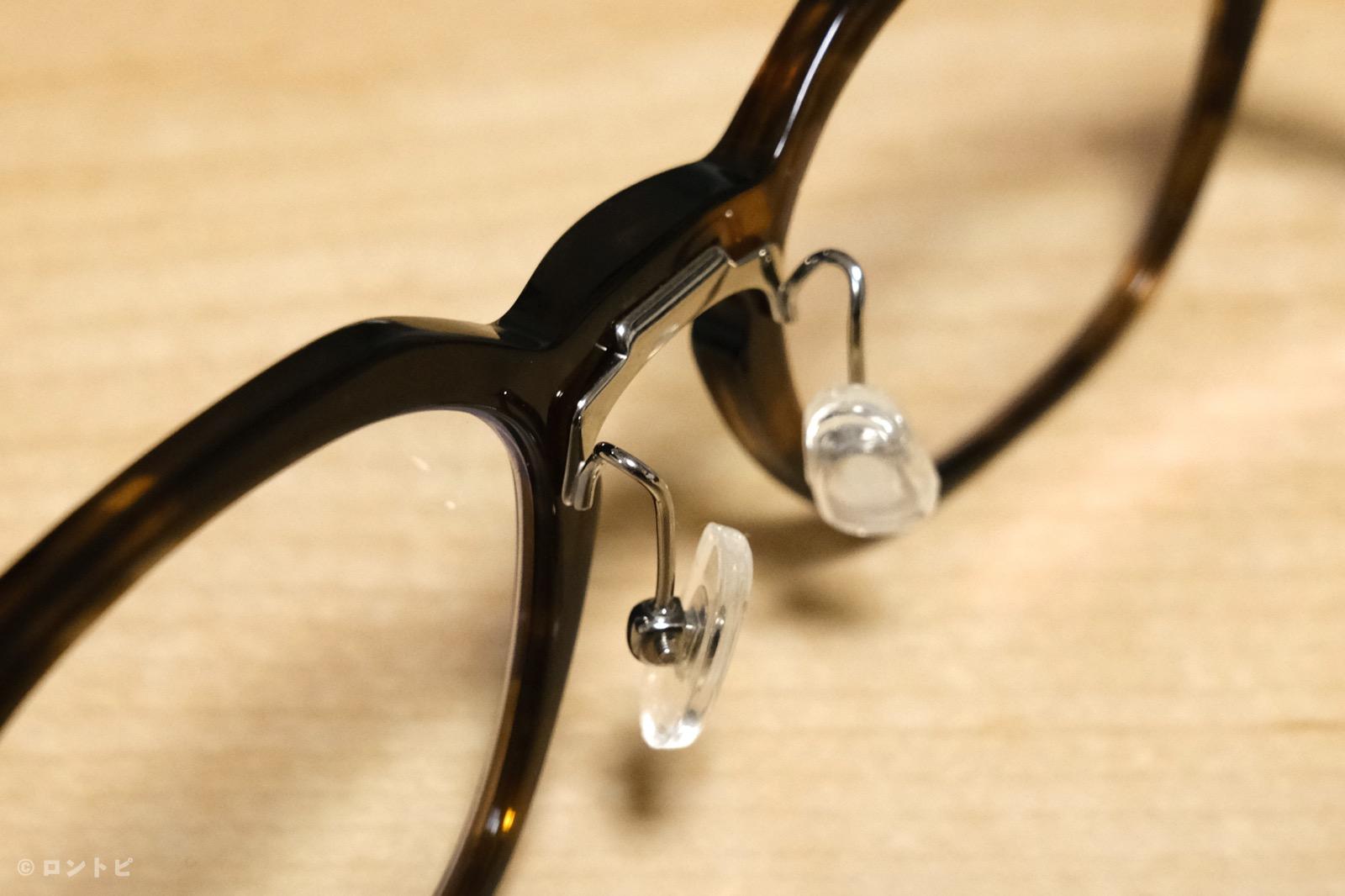 眼鏡 鼻パット 交換