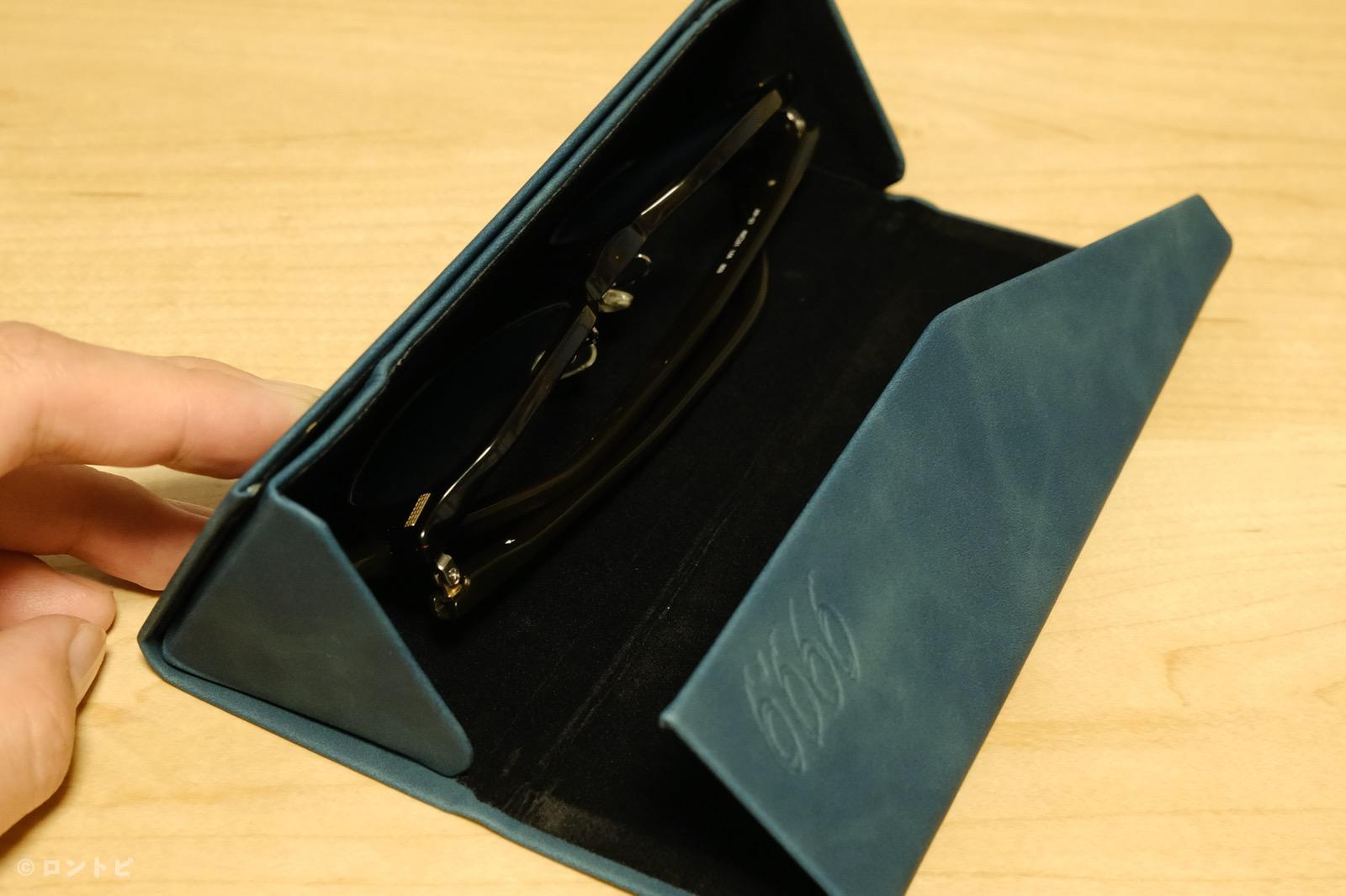 フォーナインズ・オリジナル眼鏡ケース